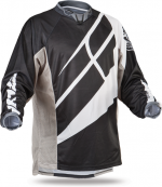 Patrol Black/Grey/White Jersey