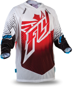 Lite Hydrogen Red/White Jersey