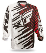 Kinetic Shock Mesh Black/Red Jersey