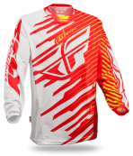 Kinetic Shock Mesh Red/Yellow Jersey