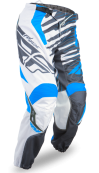 Kinetic Shock Mesh Blue/White Pant