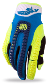 Evolution Clean Blue/Hi-Viz Glove