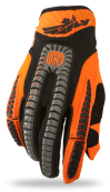 Evolution Vertigo Orange/Grey/Black Glove