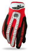 Evolution Clean Red/White/Black Glove