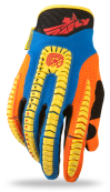 Evolution Vertigo Blue/Yellow/Black Glove
