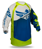 Evolution Clean Blue/Hi-Viz Jersey