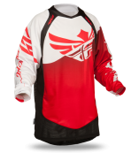 Evolution Clean Red/White/Black Jersey