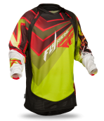 Evolution Vertigo Green/Red/Black Jersey