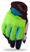 Green/Black Glove