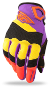 F-16 Purple/Yellow/Black Ltd Glove