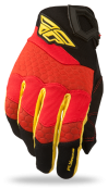 F-16 Red/Black Glove