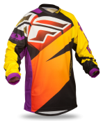 F-16 Purple/Yellow/Black Ltd Jersey