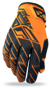 Orange/Black Glove