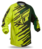 Kinetic Shock Green/Black Jersey