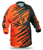 Kinetic Shock Orange/Black Jersey