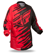 Kinetic Shock Red/Black Jersey