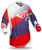 Purple/Red/White Jersey