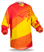 Kinetic Blocks Red/Yellow Jersey