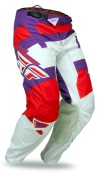 Purple/Red/White Pant