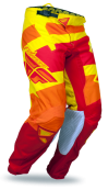 Kinetic Blocks Red/Yellow Pant