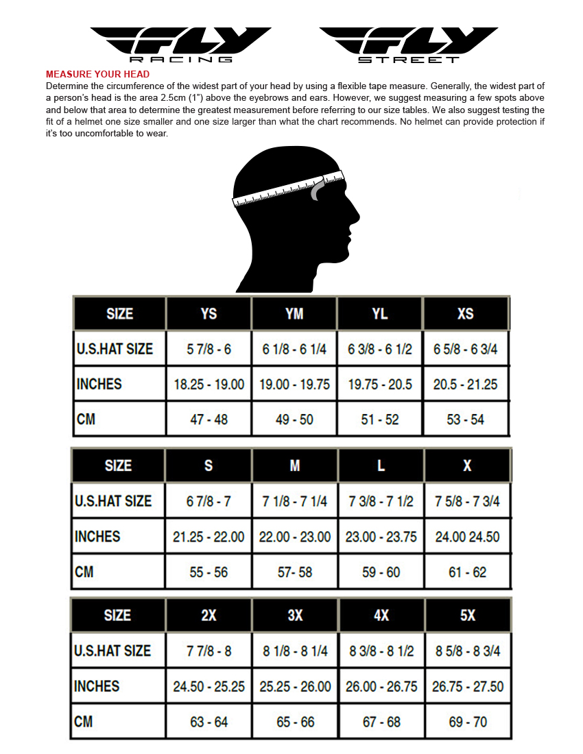 Fly Racing Jersey Size Chart Camba