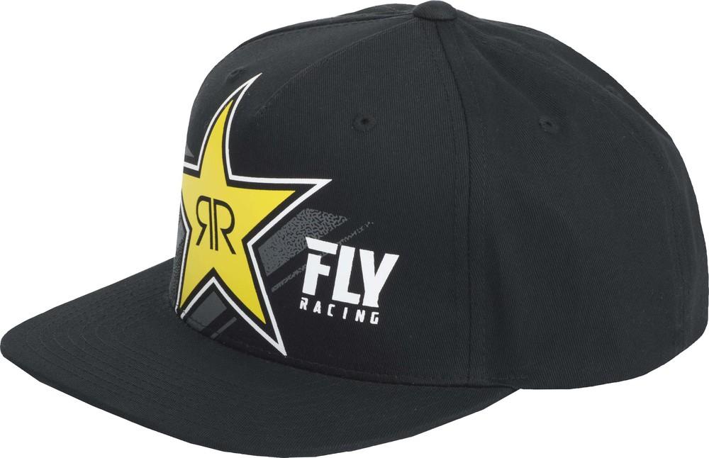e6ace798 ... get rockstar black hat fly racing motocross mtb bmx snowmobile 31c7a  00bd0