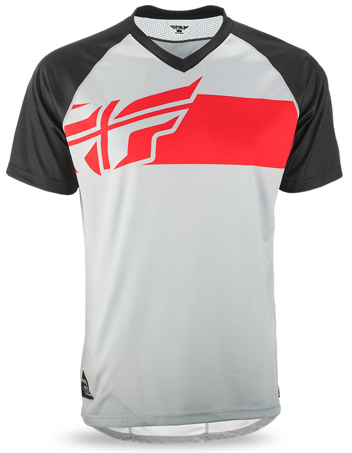 ad202386978 Action Elite Grey/Red/Black Jersey | FLY Racing | Motocross, MTB ...